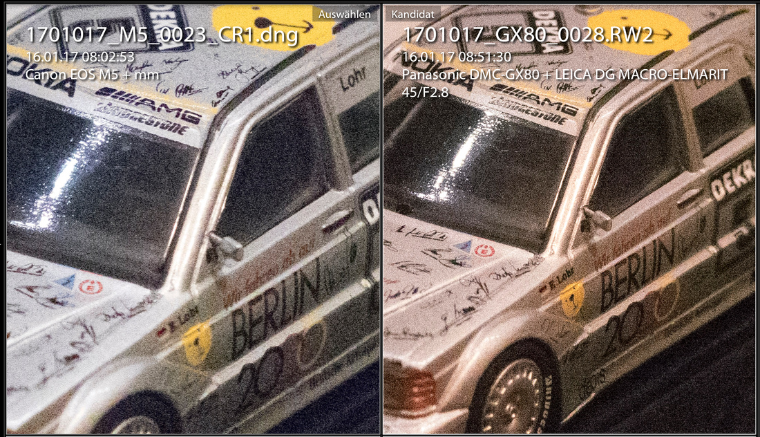 ISO 25600 M5 vs GX80